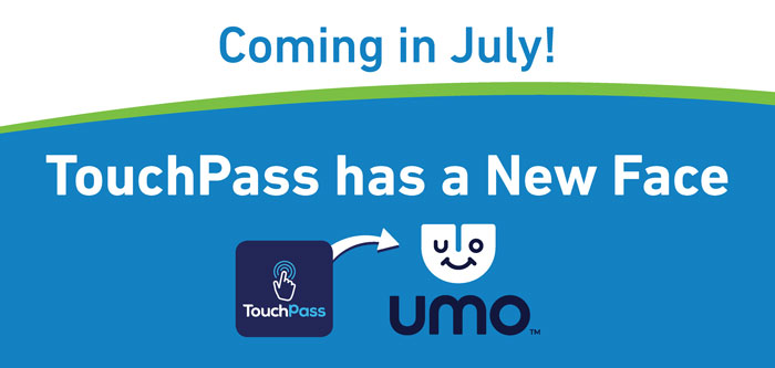TouchPass Has a New Face - Umo!
