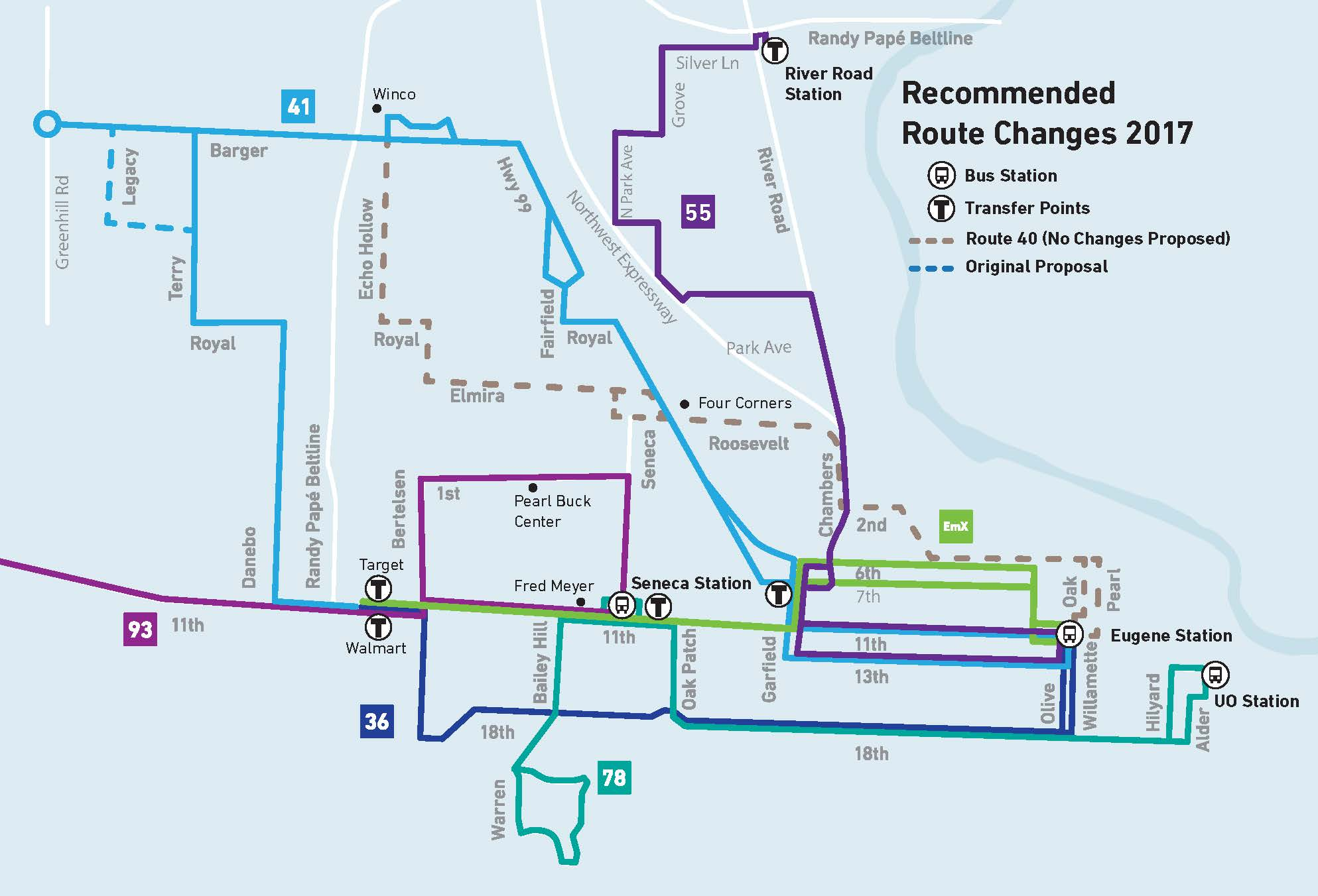West Eugene Service Redesign - Overview - Recommended 2017-03-20
